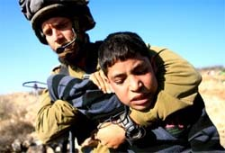 Israeli forces have recently detained more than 20 Palestinian minors