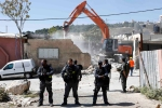 April 24 2013 - Israeli forces demolished the family home of Jaradat in at-Tur neighborhood - Photo by Afif Emira-WAFA 5