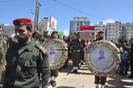 April 4 2013 Military Funeral for Abu Hamdiya in Gaza - Photo by PalToday - Photo 10