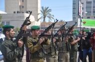 April 4 2013 Military Funeral for Abu Hamdiya in Gaza - Photo by PalToday - Photo 11