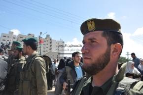 April 4 2013 Military Funeral for Abu Hamdiya in Gaza - Photo by PalToday - Photo 3