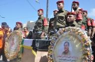 April 4 2013 Military Funeral for Abu Hamdiya in Gaza - Photo by PalToday - Photo 6