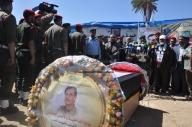 April 4 2013 Military Funeral for Abu Hamdiya in Gaza - Photo by PalToday - Photo 7