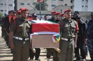 April 4 2013 Military Funeral for Abu Hamdiya in Gaza - Photo by PalToday - Photo 8