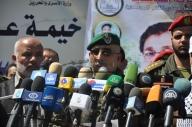 April 4 2013 Military Funeral for Abu Hamdiya in Gaza - Photo by PalToday - Photo 9