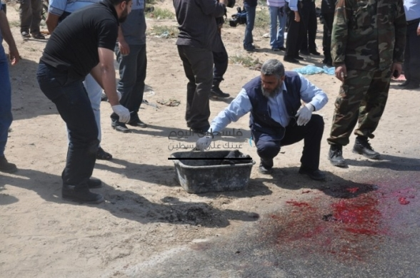 Haytham Al-Meshaal extrajudicially executed in Gaza - April 30, 2013 Photo by PalToday