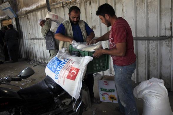 PALESTINIAN-ISRAEL-GAZA-AID