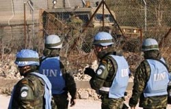 """The Israeli army has renewed its """"security"""" activities in the northern sector of the border with Lebanon."""