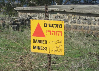 The 1997 Ottawa Treaty bans the use of mines, but countries like the US and Israel have opted to not sign the treaty
