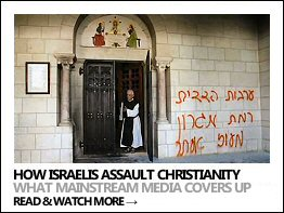 Israel's crimes against Christians (Click to open the link)