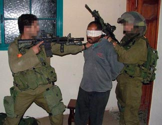 Israeli soldiers are accused of routinely violating the rights of Palestinians