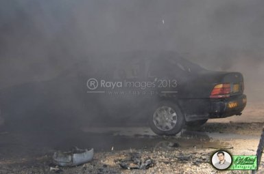 June 15 2013 Violent clashes in Latrun Valley - Photos by Raya - 1