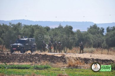 June 15 2013 Violent clashes in Latrun Valley West of Ramallah - Photos by Raya - 12