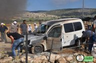 June 15 2013 Violent clashes in Latrun Valley West of Ramallah - Photos by Raya - 6