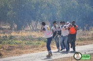 June 15 2013 Violent clashes in Latrun Valley West of Ramallah - Photos by Raya - 8