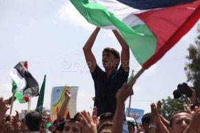 June 7 2013 - Global March to Jerusalem in Gaza - Photo by Raya - 2