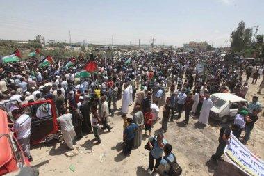 June 7 2013 - Global March to Jerusalem in Gaza - Photo by Raya - 3