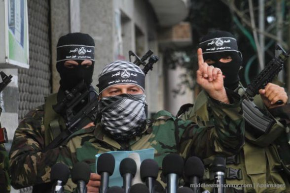 Al-Aqsa Martyrs' Brigades, affiliated with Fatah, insists that an armed struggle against Israel is the only way to liberate Palestine -