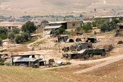 More than 210,000 acres of land will be confiscated and the 40,000 Palestinians living in 36 villages will be displaced under the plan