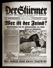 Nazi tool of 'Gleichschaltung': Der Stuermer