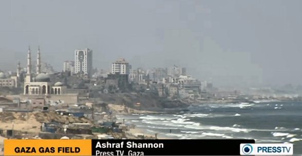 gaza gas field industry israel gas looting theft israeli video