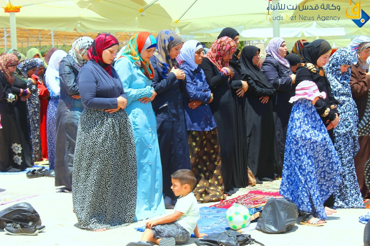 July 12 2013 – first friday of ramadan prayers at al aqsa palestine