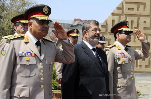 The Egyptian military (and opposition) were in contact with the Israeli government prior to the coup