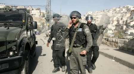 Israeli police in occupied Jerusalem