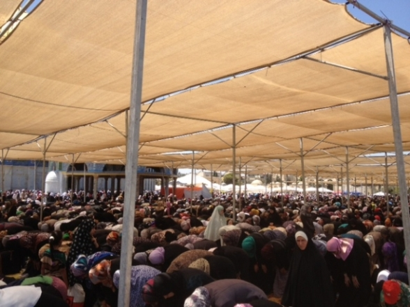 Aug 2 2013 - 400 thousand worshipers attend last friday of Ramadan prayers at Aqsa Mosque - Photo by Safa (14)