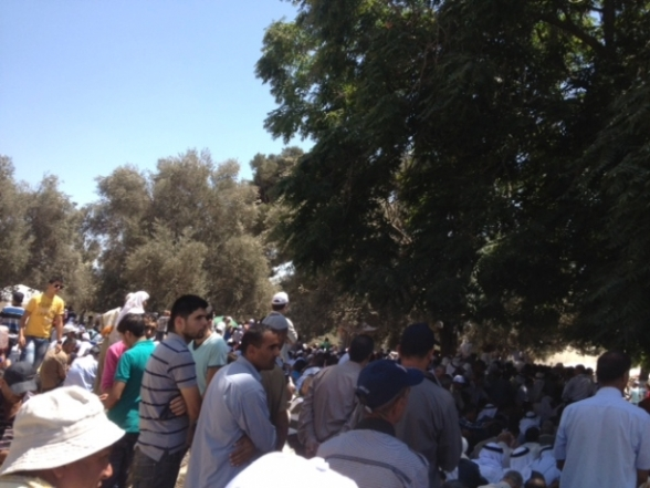 Aug 2 2013 - 400 thousand worshipers attend last friday of Ramadan prayers at Aqsa Mosque - Photo by Safa (34)