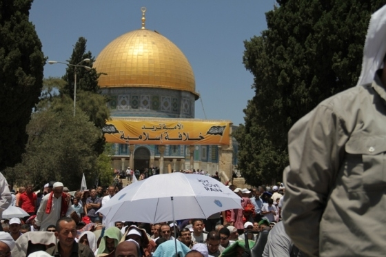 Aug 2 2013 - 400 thousand worshipers attend last friday of Ramadan prayers at Aqsa Mosque - Photo by Safa (8)