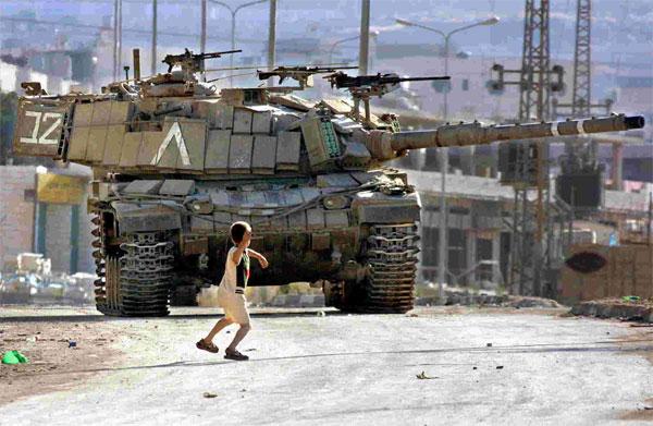 israeli-tank-palestinian-child-rock-stone[1]