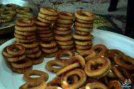 Home-made date cake... Gaza's special Eid cookie - Photo by Al Ray - Oct 16, 2013