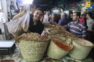 Markets filled in Gaza - Oct 14 2013 Photo by QudsNet