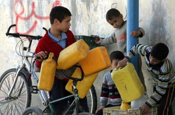 THE WATER PROBLEM IN GAZA