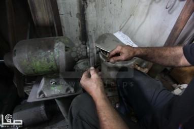Butchers preparing sacrificial slaughter Tools – Oct 14, 2013 Photo by Safa