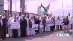 gaza protest video closure egypt rafah