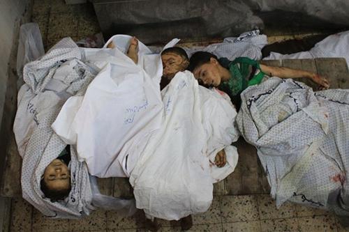 Photo via Al Qassam Brigades - July 20, 2014