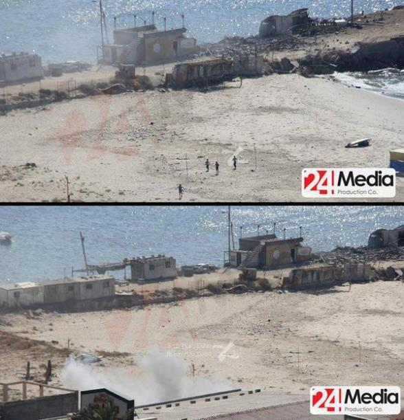 The attack on the 4 children by israeli gunboats was captured on film