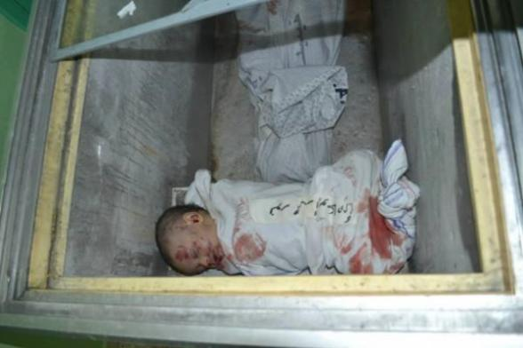 No more place in the morgue, so bodies of children kept in ice cream refrigerators
