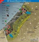 map gaza assault protective edge