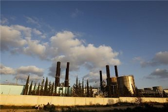 A view of the Gaza Strip's sole power plant in Nusairat taken on March 26, 2012 (AFP/File Mohammed Abed)