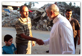 Aug 30, 2014 | Haniyeh visits Shijayah - Gaza  (Click to view the full album)