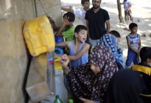 Precious resource in Gaza