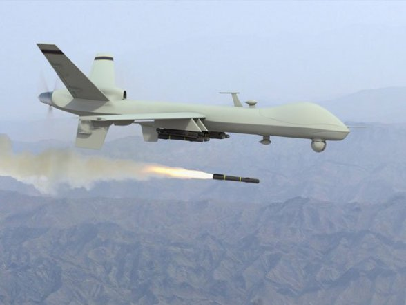 [File photo] Al-Mayadeen reported that sources said the reason behind the fall of the drone 'are still unknown,' noting that the Iraqi army abstained from commenting on the incident.