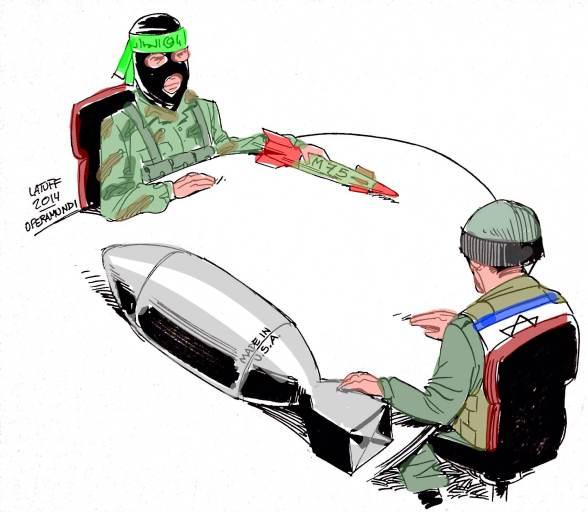 Cartoon by @LatuffCartoons Copyleft courtesy of Carlos Latuff