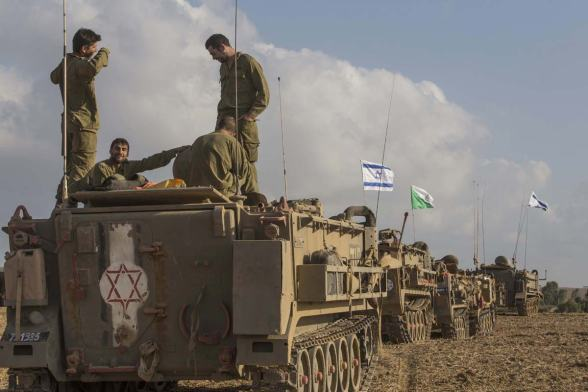 israeli-army-at-gaza-border