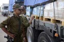 'As was the case before and during the war, Israel still allows only 200-400 trucks loaded with aid supplies as well as limited quantities of fuel and cooking gas through the crossing daily,'