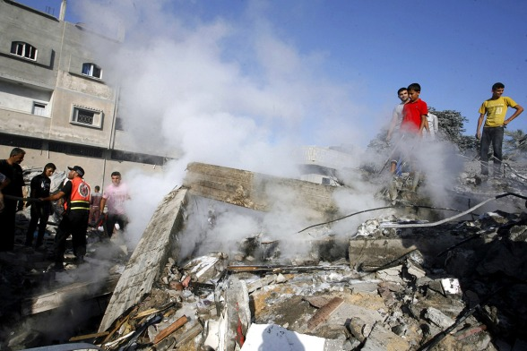 new-attacks-on-gaza-2014
