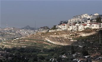 The Israeli West Bank settlement of Efrat on September 1, 2014 (AFP Ahmad Gharabli)